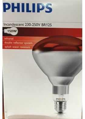 LAMPARA INFRAROJO 150w E27