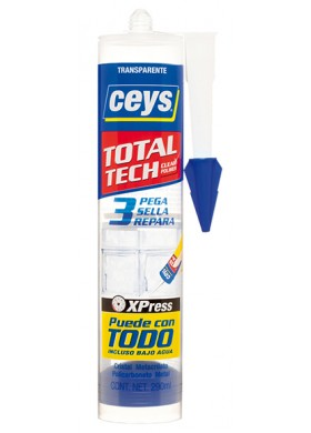 Ceys total tech transparente 290 ml.